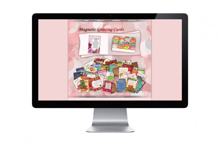 Magnetic Greeting Cards - view 1 / Portfolio / Khaztech - Web design and development studio