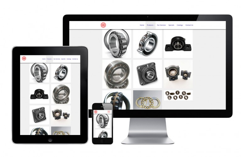 Ontario Bearings - view 3 / Portfolio / Khaztech - Web design and development studio
