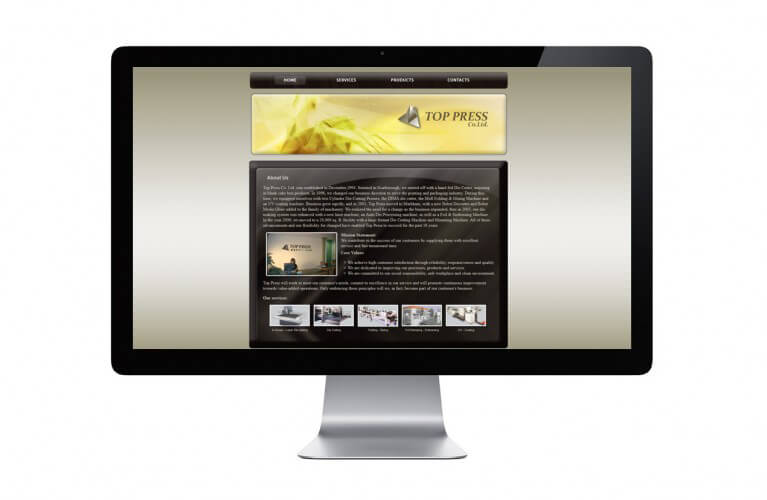 Top Press - view 1 / Portfolio / Khaztech - Web design and development studio